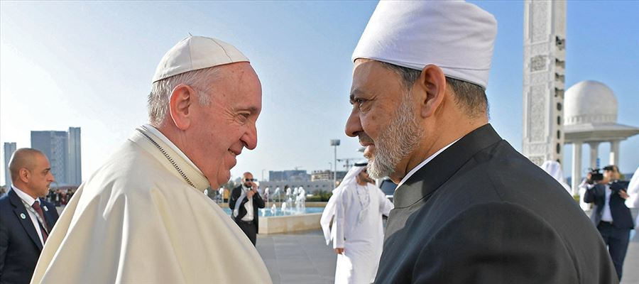Pope Francis attended Interfaith meeting in UAE