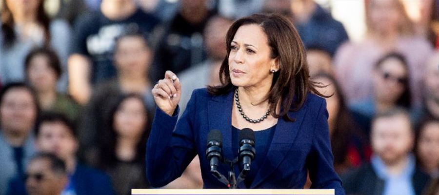 """Kamala Harris called Donald Trump's wall a """"medieval vanity project"""""""