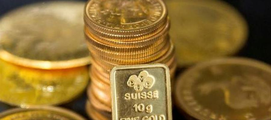 Gold prices rose on the back of a weaker US dollar