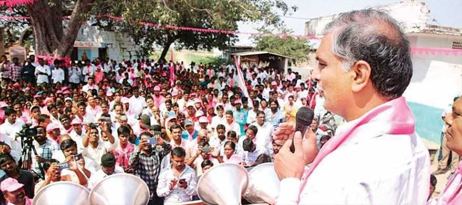 By next monsoon, Kaleshwaram project be able to supply water: Harish Rao