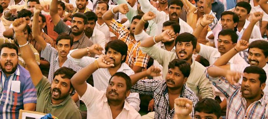 Is there any party to save unemployed youth in Telangana?