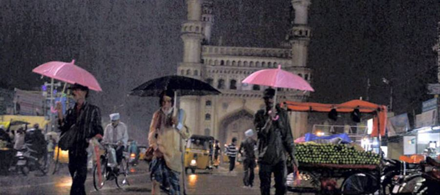 Hyderabad likely to receive Rainfall for next 48 hours