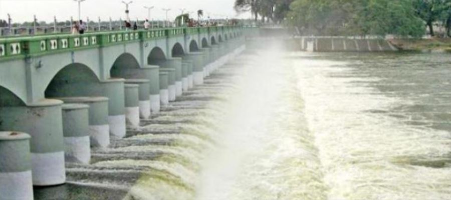 Cauvery water received by Tamilnadu due to surplus from its Kabini dam