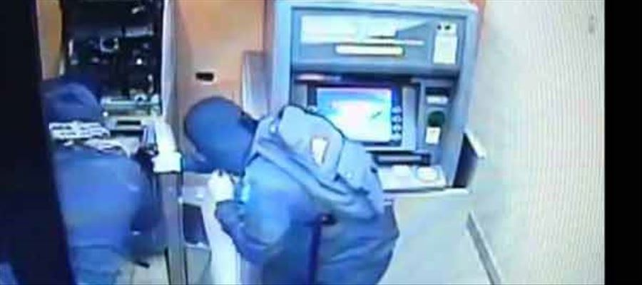 ATM robber caught by cops!