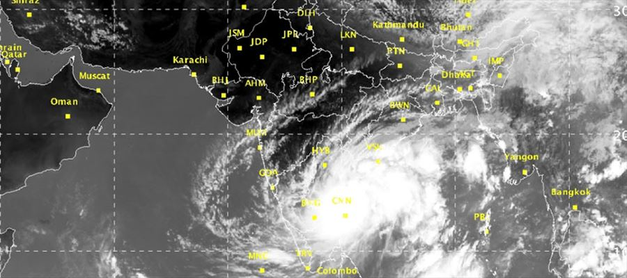 Deep depression in South Tamilnadu and West Srilanka persists