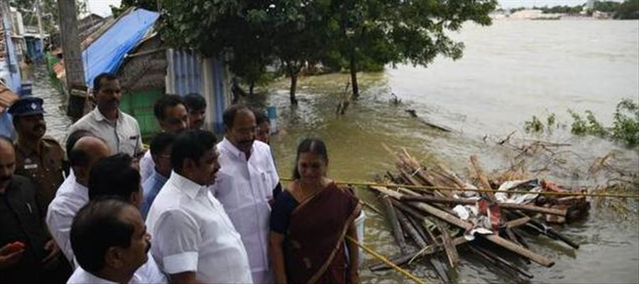 50 villages in Erode hit by floods!