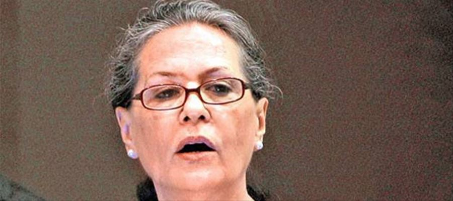Google search results related to Sonia Gandhi going viral on social media