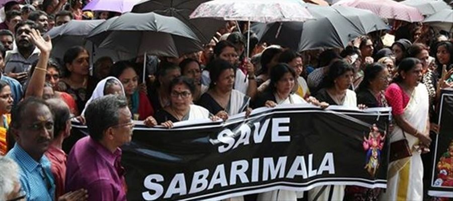 Sabarimala protest area becomes warzone!