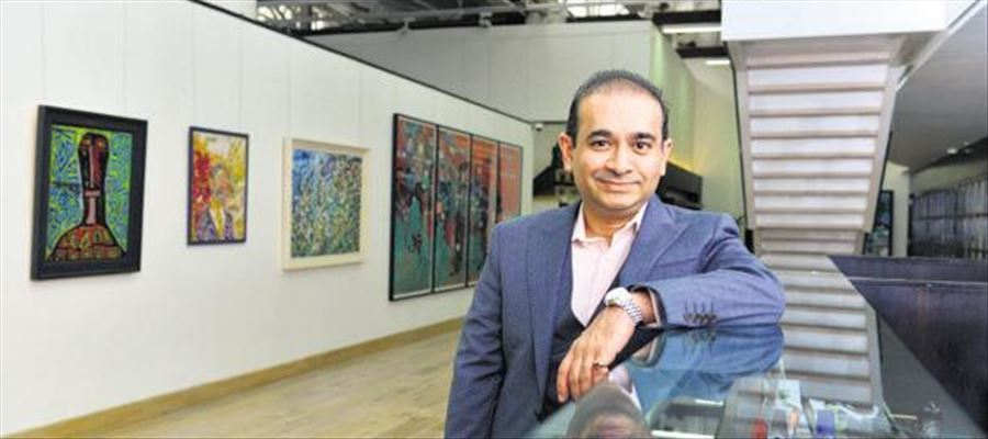 PNB Scam accused Nirav Modi located in UK