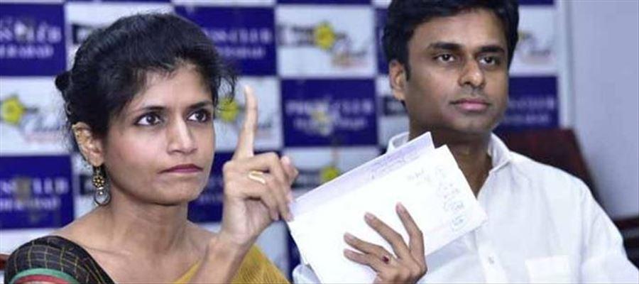 Why Telangana Jana Samiti, Vice President  B. Rachana Reddy resigned from the Party?