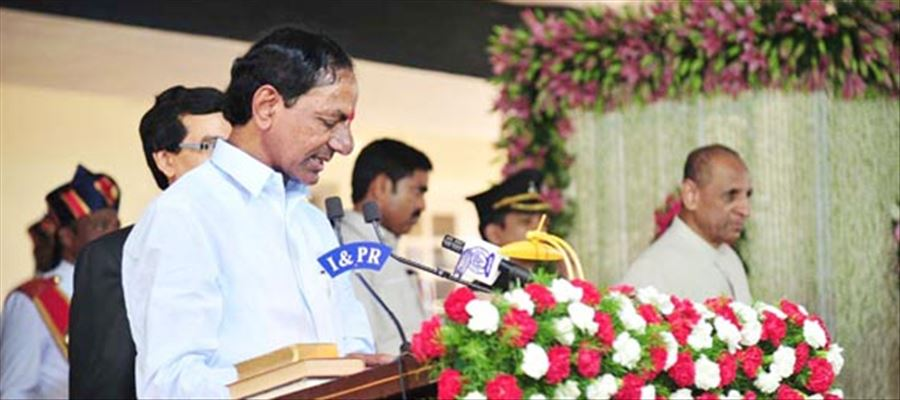 KCR the KING of Telangana, to Sworn in as CM