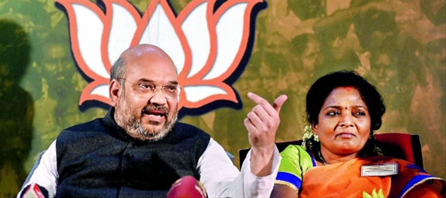 Will Amit Shah announce new partners in Tamilnadu before Lok Sabha elections?