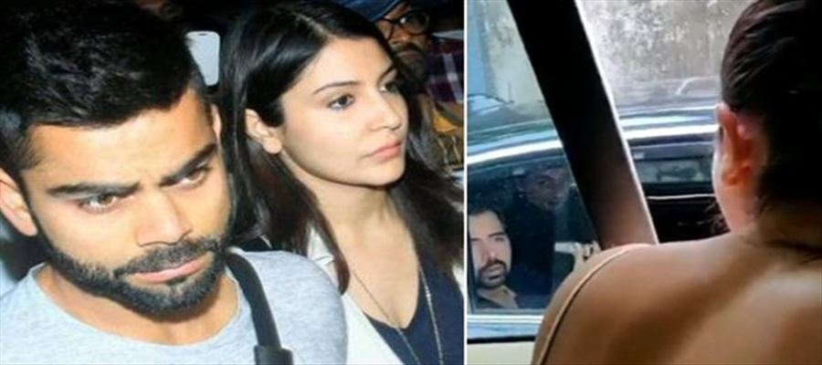 Anushka scolding a man for littering VIDEO goes viral