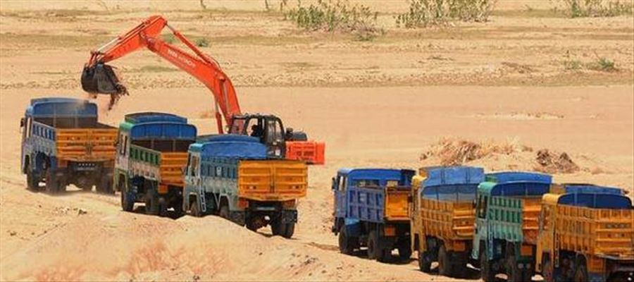 TN Govt opened bookings for the online sale of imported sand at Thoothukudi port