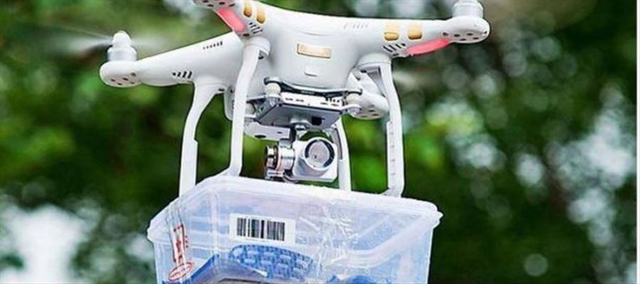 Researchers working on drone delivery system for medical products