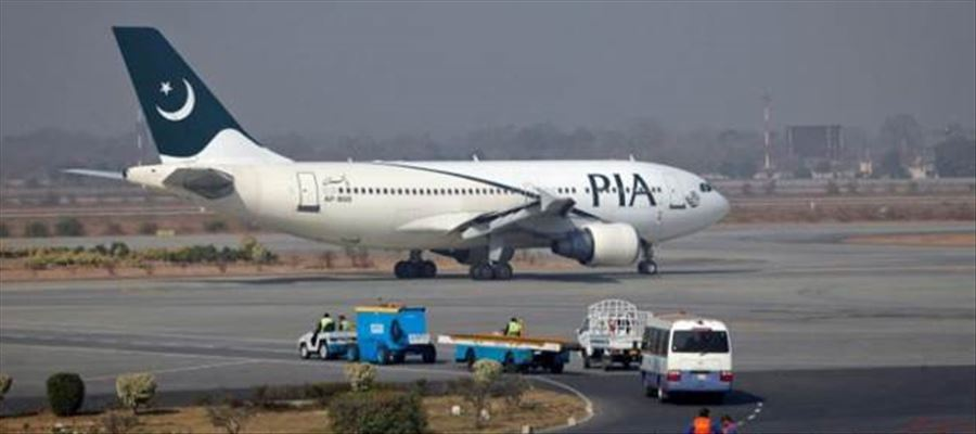 Why Pakistan International Airlines (PIA) asked its passengers onboard to travel by bus??