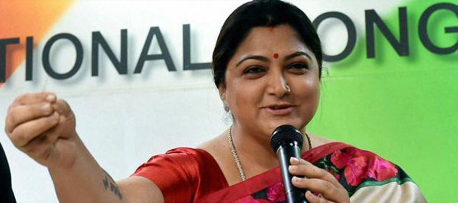 TN Congress against Kushboo!