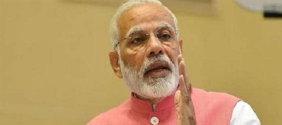 Modi said BJP worker is driven by National Interest & not by any self-interest