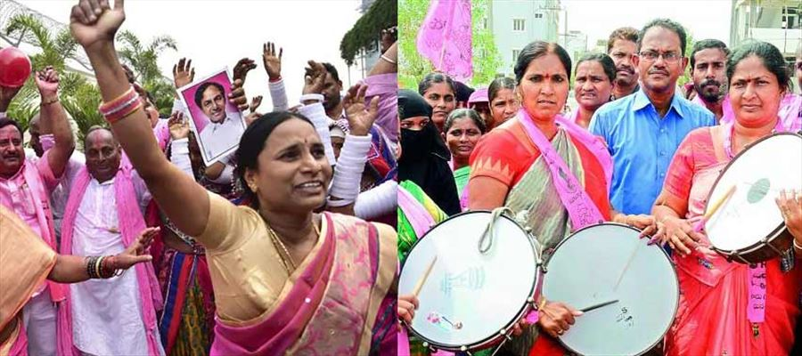 6 Women Candidates elected in Telangana Assembly 2018