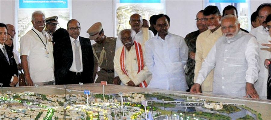 What's CM Chandrababu Naidu's next plan regarding Amaravathi Constructions?