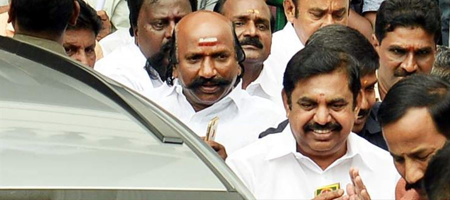 111 AIADMK MLAs in Tamilnadu attended a legislators' meet convened by Chief Minister E Palaniswami