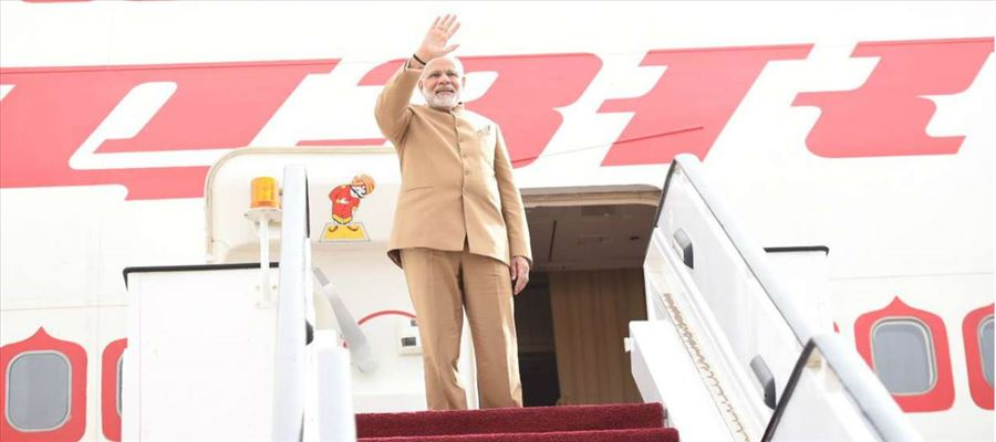 PM Modi set for a whirlwind tour on February 9