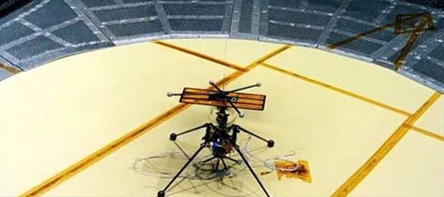 Unmanned Helicopters to be sent to Mars from NASA