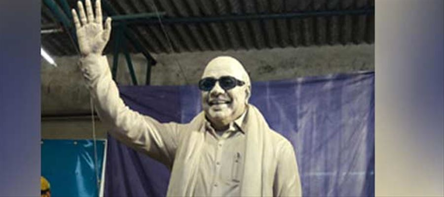 Karunanidhi's Life Size Statue to be unveiled on December 16
