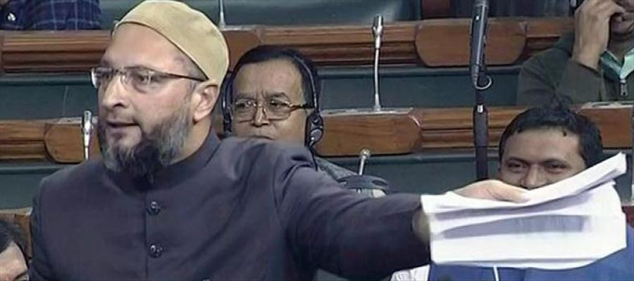 Asaduddin Owaisi also termed triple talaq bill as 'anti-women'
