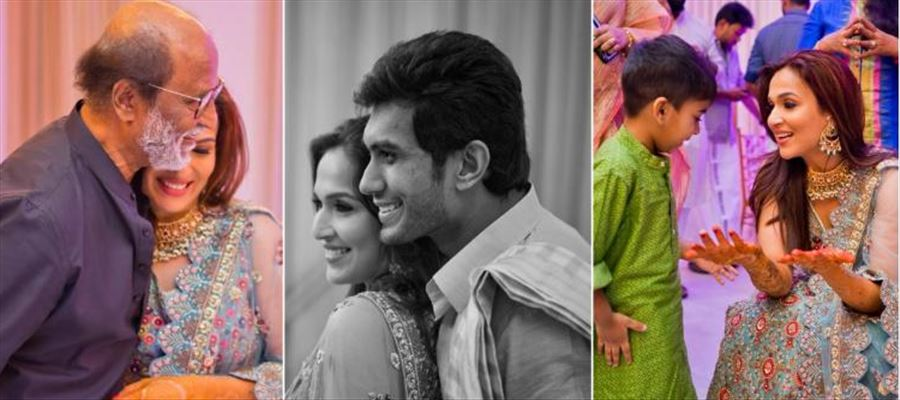 Know Soundarya Rajinikanth's 3 most important Men in her life