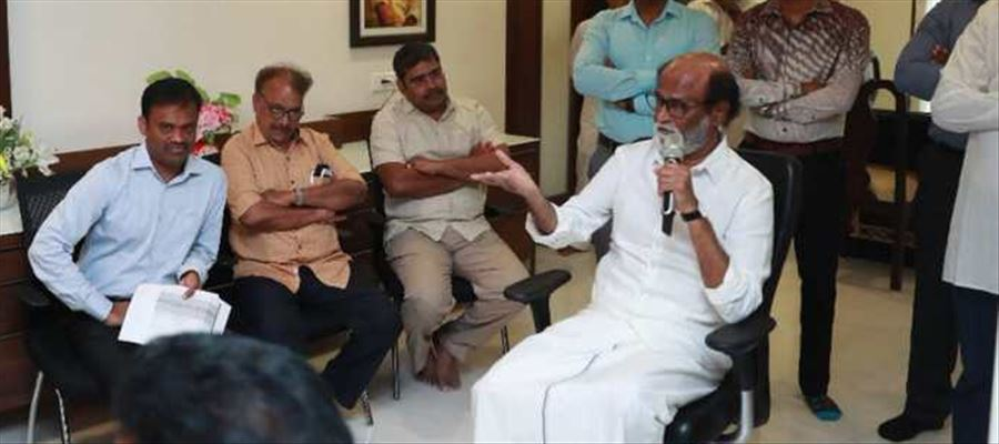 Rajinikanth all set to contest Assembly elections in Tamilnadu