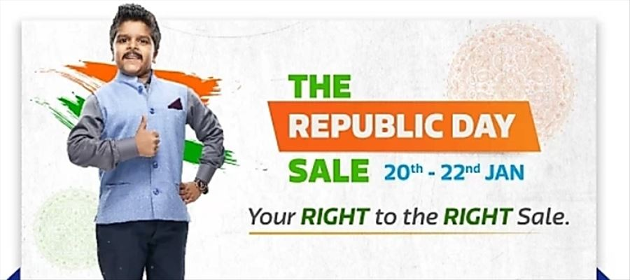 Exciting News: Flipkart Republic Day Sale started from January 20 to 22, 2019