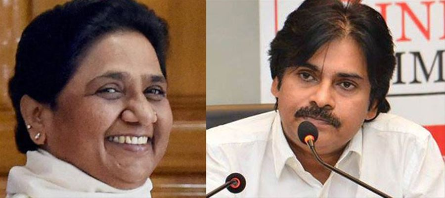 Do Pawan wants to woo Dalits with BSP?