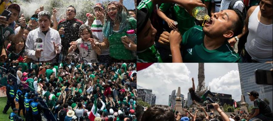 FIFA World Cup 2018: Mexican Hits Goal and the jubilation creates 'Earthquake'