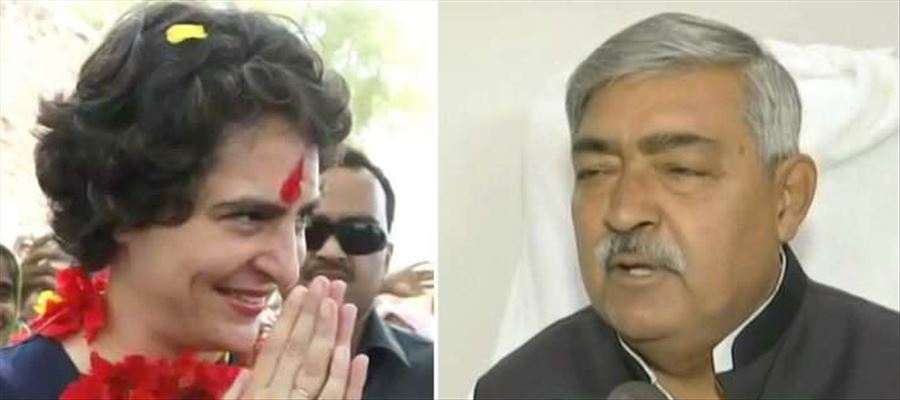 Bihar BJP Minister made sexiest remarks on Priyanka Gandhi