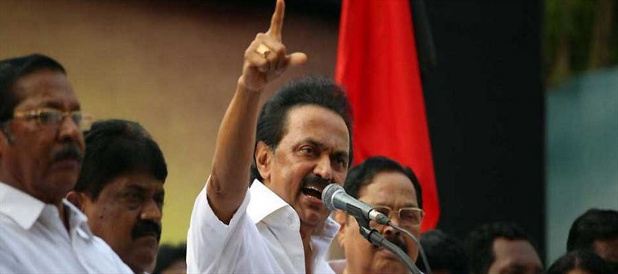 "Stalin's speech after swearing in as DMK President - ""Let's Get rid of BJP!"""