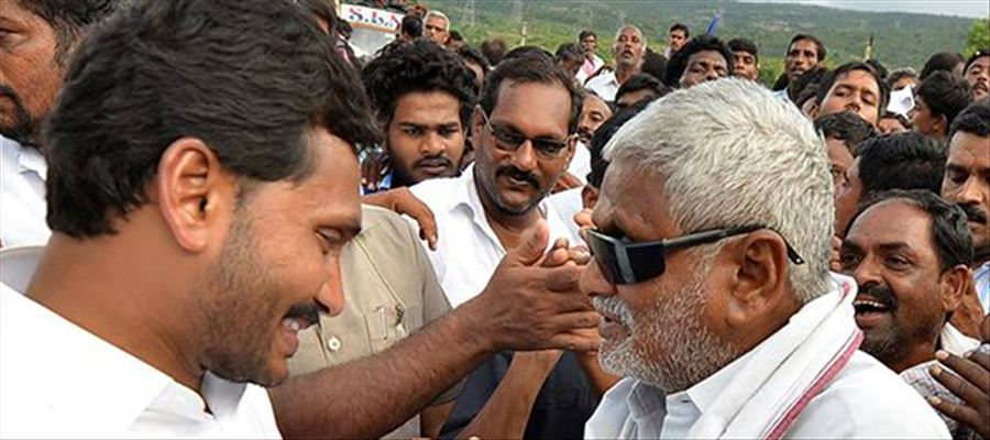 YS Jagan suffers from Back Pain during the Padayatra