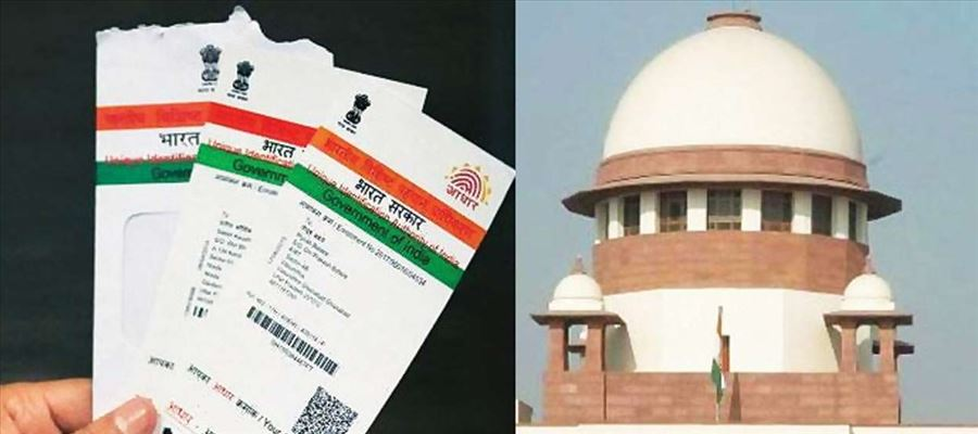 SC declared Aadhaar Scheme as Constitutionally Valid