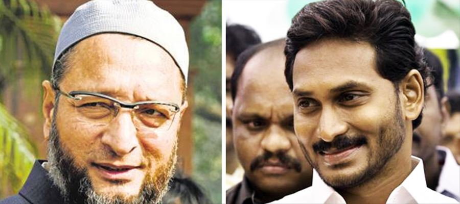 Is Jagan planning to take support from KCR & Owaisi to take on Naidu?