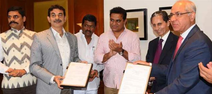 Orient Cement Ltd signs MoU to expand in Telangana