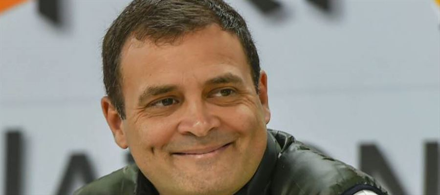 Surprise Gift to Rahul Gandhi on Valentines Day