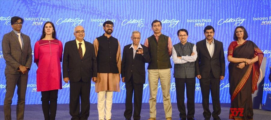Infosys Science Foundation awarded its Infosys Prize 2018 to six winners