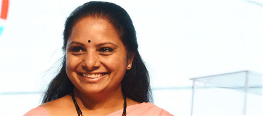TRS MP Kavita selected for Fame India Extraordinary Parliamentarian award 2019
