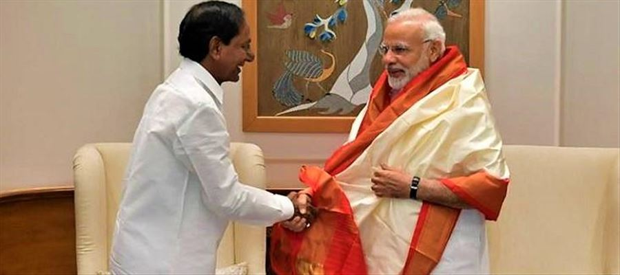 Did PM Narendra Modi respond positively to the request of KCR?
