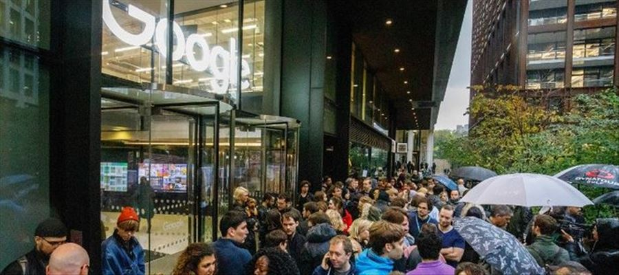 Two dozen company offices to protest against Google's handling of sexual harassment