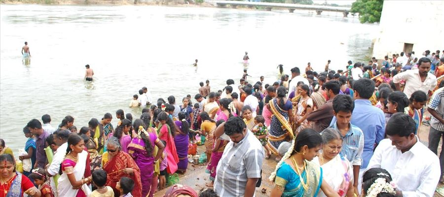 Cauvery Delta District people celebrates Aadiperukku Today