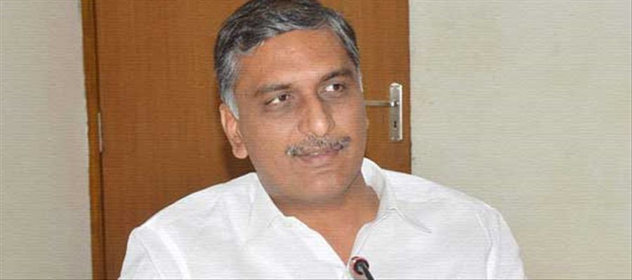 Harish Rao challenged Chandrababu to campaign in Telangana in coming elections