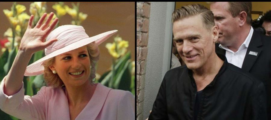 Bryan Adams opens up about his relationship with Princess Diana