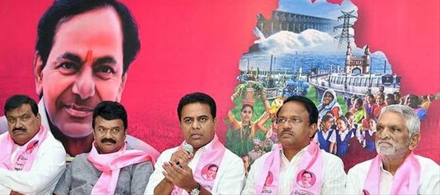 KTR openly claims that TRS would return to power with 100 seats