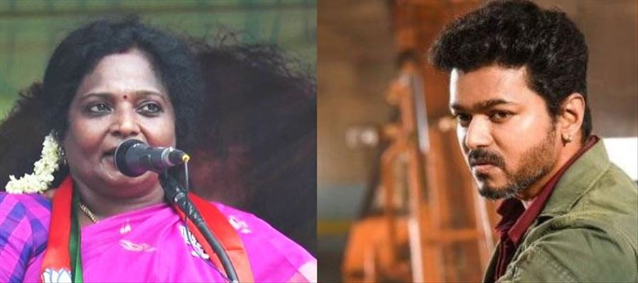 Tamilisai sarcastic remarks provoked fans of Thalapathy as Vijay is called